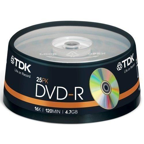 TDK DVD-R 4.7GB 25-pack