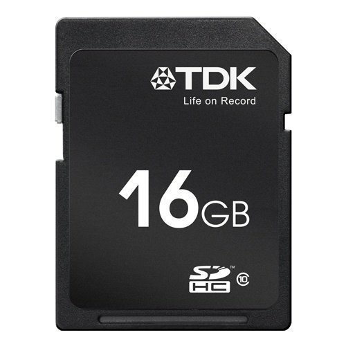 TDK SDHC Card 16GB (Class 10)