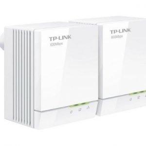 TP-LINK TL-PA6010KIT AV600 Gigabit Mini Powerline Adapter Kit/600Mbps Powerline Datarate/Twin pack