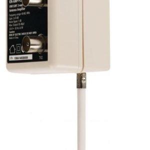 TV-vahvistin plug-in-malli 10 dB 2 lähtöä
