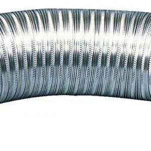 Taipuisa alumiini ilmastointiletku 152 mm 3.00 m