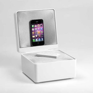 Tangent Pearl Box Kaiutin Valkoinen