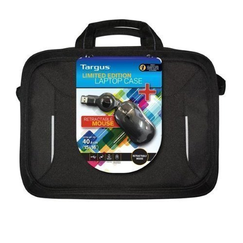 Targus 16'' Laptop Case + Wired Mouse