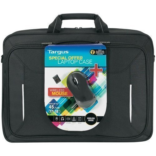 Targus 18'' Laptop Case + Wireless Mouse
