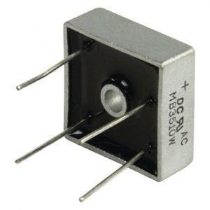 Tasasuuntaaja square wire