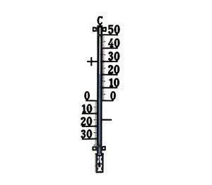 Termometerfabriken Ulkolämpömittari 44cm 424 Plus musta