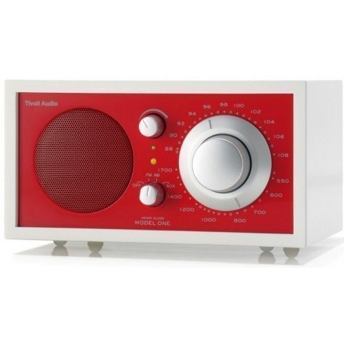 Tivoli Audio Model One Frost Red Radio