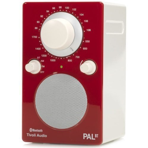 Tivoli Audio PAL Bluetooth White / Red