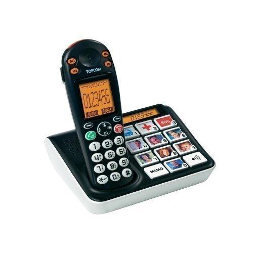 Topcom SoLogic B935 DECT med bild-knappar