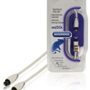 Toslink digitaalinen optinen audiokaapeli 1 0 m