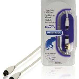 Toslink digitaalinen optinen audiokaapeli 2 0 m