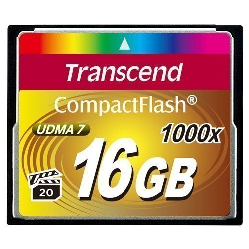 Transcend Compact Flash 1000x 16GB