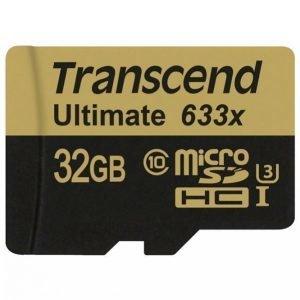 Transcend Microsdhc 32 Gt Cl10 U3 633x