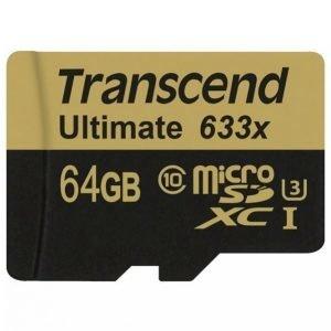 Transcend Microsdxc 64 Gt Cl10 U3 633x