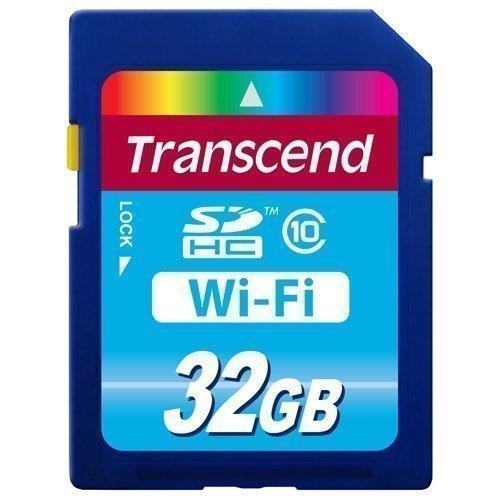 Transcend SDHC Card Wi-Fi 32GB Class 10