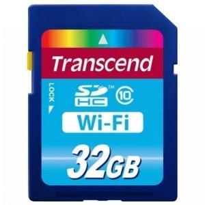 Transcend Sdhc Wi-Fi 32 Gt Class 10 Ts32gwsdhc10