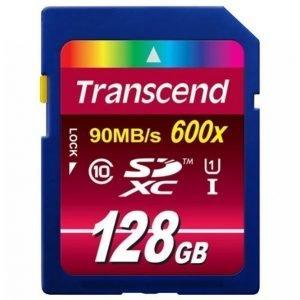 Transcend Sdxc 128 Gt Class10 Uhs-I 600x Ts128gsdxc10u1