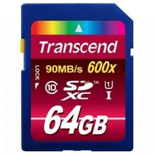 Transcend Sdxc 64 Gt Class 10 Uhs-I 600x