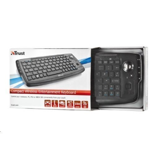 Trust Compact Wless Ent Keyboard ND