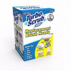 Tvins Turboscrub Lisäharjapaketti
