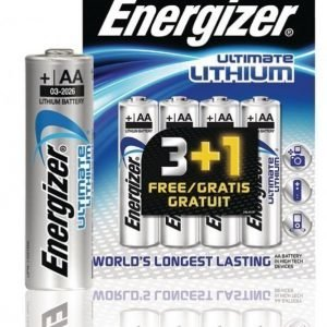 Ultimate lithium paristo AA/FR6 1.5 V