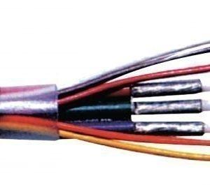 VGA / XGA johto 5 x 0.08 mm kelalla 100 m