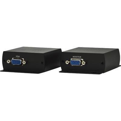 VGA signaalinjatkaja Cat6 kaapelissa 1920x1200 70m