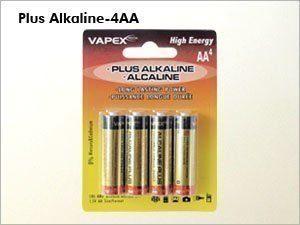 Vapex AA PLUS Alkali (Alkaline) Paristo - 4 kpl
