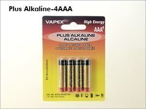 Vapex AAA PLUS Alkali (Alkaline) Paristo - 4 kpl