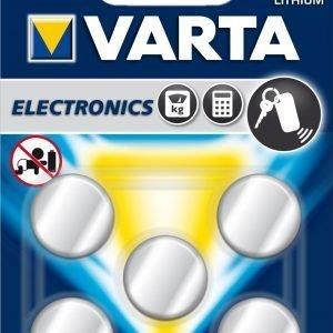 Varta Electronics Cr2025 Paristo 5-Pakkaus