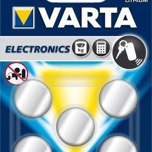 Varta Electronics Cr2032 Paristo 5-Pakkaus