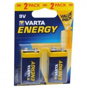 Varta Energy 9v Paristo 2kpl