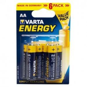 Varta Energy Aa Paristo 6kpl