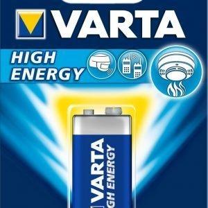 Varta High Energy 9v Paristo