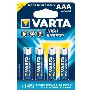 Varta High Energy Aaa Paristo 4kpl