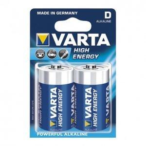 Varta High Energy D Paristo 2kpl