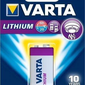 Varta Lithium 9v Paristo