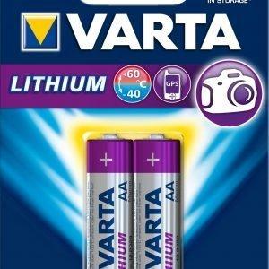 Varta Lithium Aa Paristo 2 Kpl