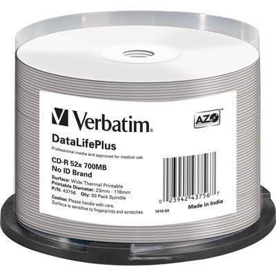 Verbatim CD-R 52x 700MB/80min 50-pakkaus spindle