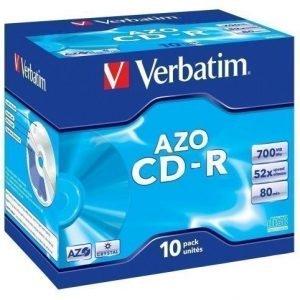 Verbatim CD-R Verbatim 52x 10p 80m/700MB JC Crystal
