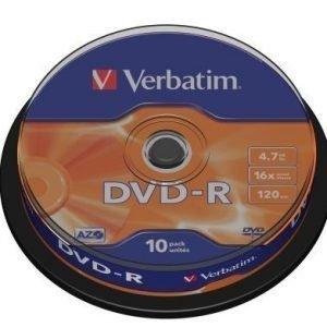 Verbatim DVD-R Verbatim 4.7GB 10p 16X Spindel