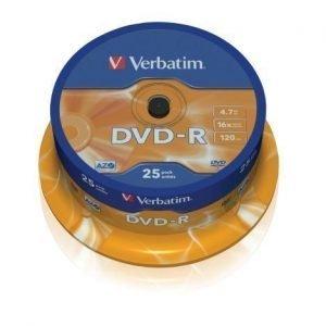 Verbatim DVD-R Verbatim 4.7GB 16X 25-pack Spindel