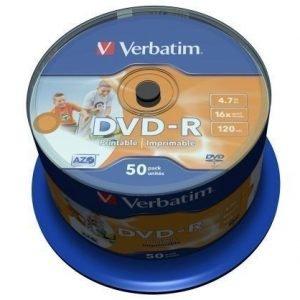 Verbatim DVD-R Verbatim 4.7GB 50p 16X Printable