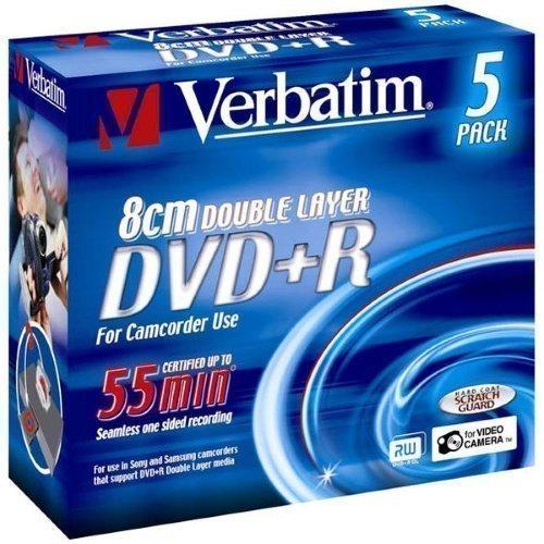 Verbatim DVD+R DL 8cm 2