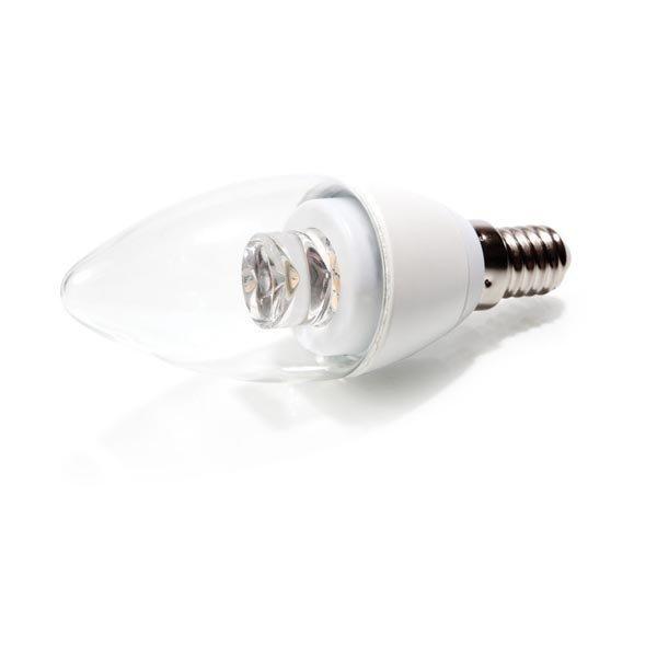 Verbatim LED Classic B Clear E14 Lämpimän valk. valo 4W kruunu