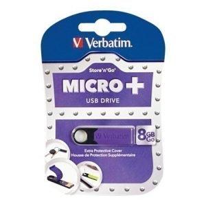 Verbatim Micro Plus Store-N-Go 8GB 2.0