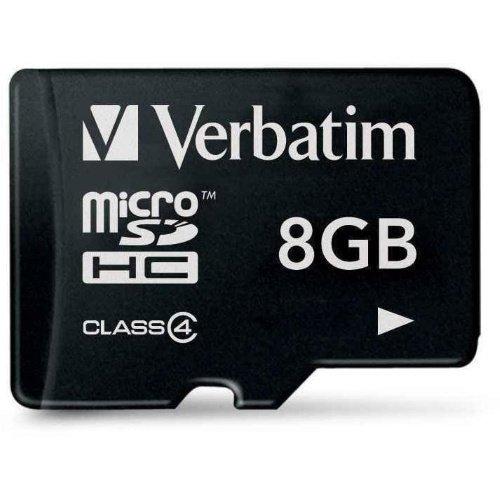 Verbatim microSDHC Class 10 8GB