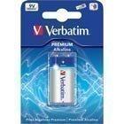 Verbatim paristo 9V/6LR61 Premium Alkaline 1-pakkaus