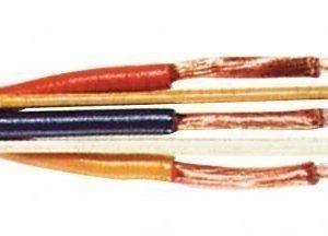 Video johto pyöreä 6-p DIN uros 2 x 0.12 mm kelalla 100 m musta