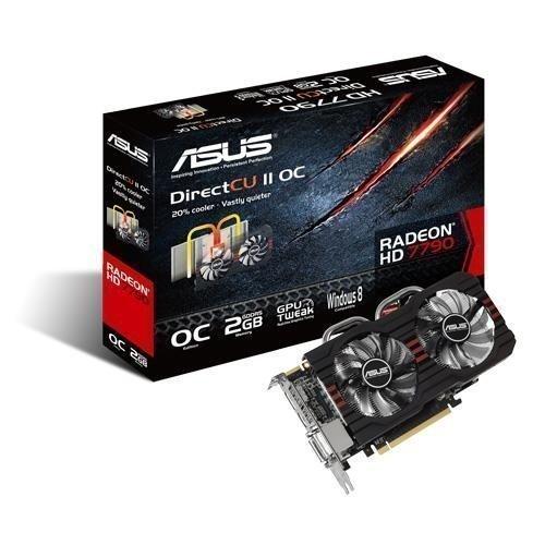 Videocard-PCI-Express-AMD Asus Radeon HD7790 2GB DDR5 DirectCU II 2xDVI HDMI DisplayPort PCIe
